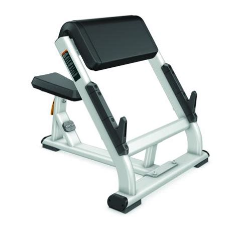 how to use preacher curl bench discovery series preacher curl bench dbr0202 precor