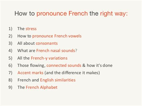how to pronounce the ultimate guide for french pronunciation