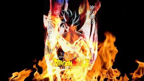 imagenes en 4k de goku dragon ball super trailer oficial del torneo