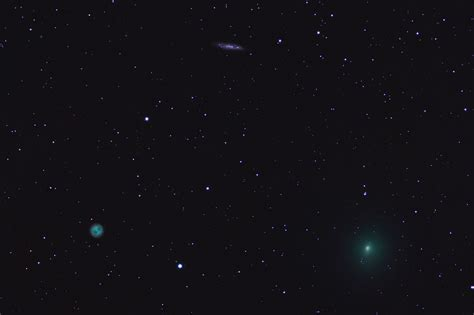comet 41p comet 41p encounters m108 and the owl nebula mike s