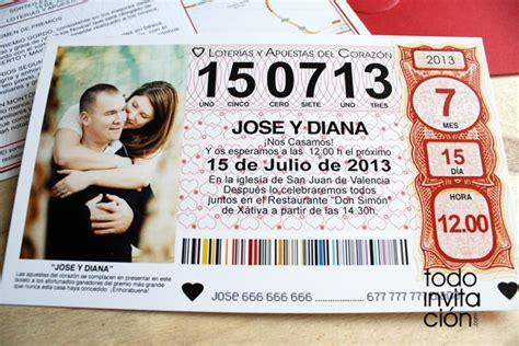 invitaci 243 n de boda en tres papeles distintos digitalpapel plantillas para imprimir participaciones de los decimos de invitaci 243 n de boda quot billete