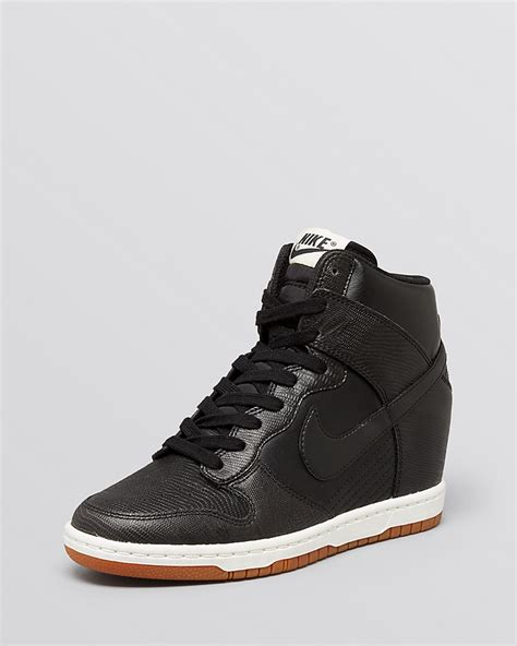 nike lace up high top sneakers s blazer mid textile