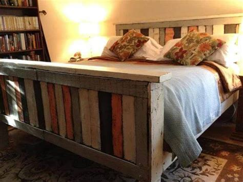 how to build a pallet bed how to make your own pallet bed 99 pallets