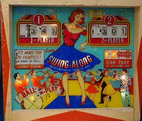 swing along pinball swing along gottlieb 1963 pinball pinterest