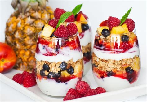 fruit parfait granola and fruit parfait tatyanas everyday food