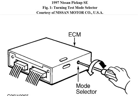 1997 nissan ignition wiring diagram wiring