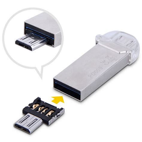Lynx Connector Usb To Micro Usb Converter Konektor Otg Termurah dm usb to micro usb otg adapter for usb flash driver phone pad etc silver everbuying