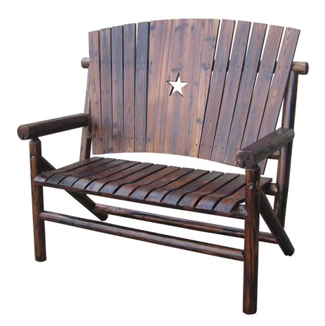 texas bench texas western furniture wagon wheel furniture