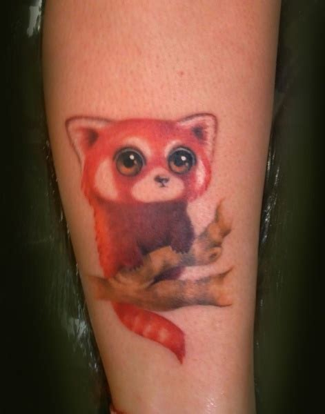 red panda tattoo 34 panda tattoos