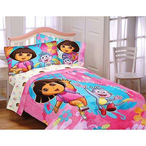 dora comforter set dora twin full microfiber comforter sham pillowcase