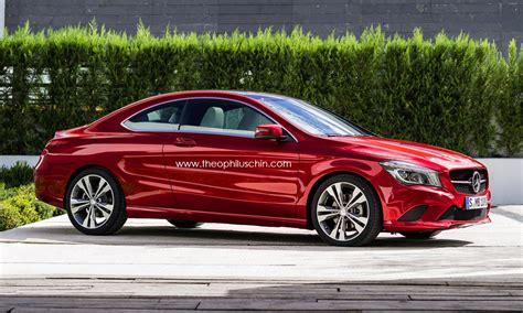 Mercedes 2 Door by Mercedes Two Door Coupe Rendering Autoevolution
