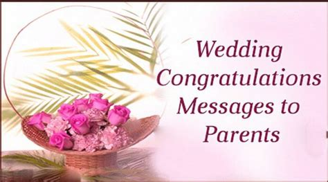 Wedding Congratulations Messages To Parents