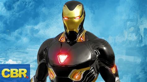 future iron mans armors suits marvel avengers