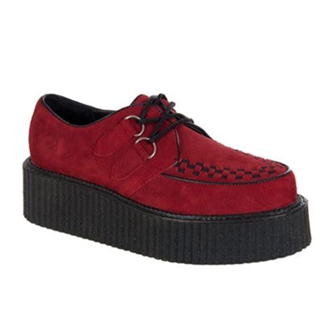 demonia creeper 402 mens suede creeper shoes demonia