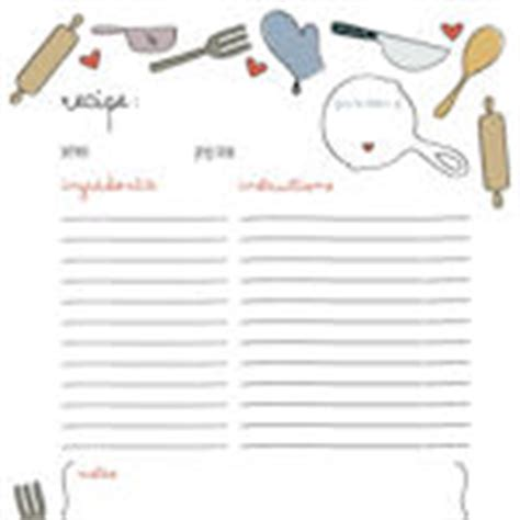 Access Recipe Card Template by 55 Free Printable Recipe Cards A Collection