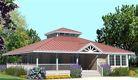 Hip Cottage With Wrap Around Porch 1423 Sf Southern Cottage Roof Plans