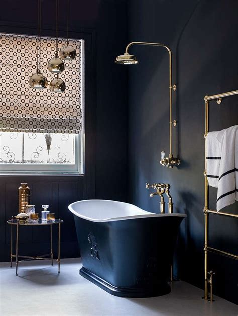 dark blue bathroom ideas best dark blue bathrooms ideas only on pinterest dark blue