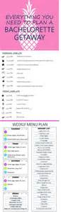 bachelorette itinerary template 1000 ideas about bachelorette itinerary on
