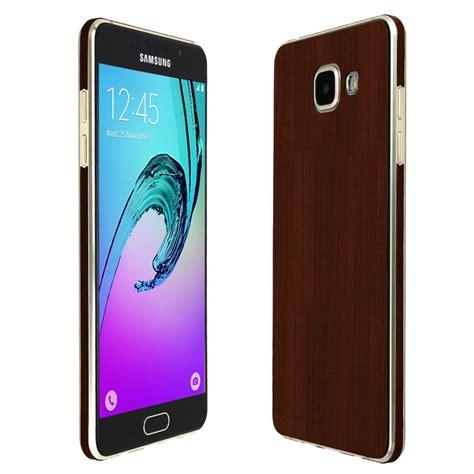 Wood Samsung Galaxy A5 Custom by Skinomi Techskin Samsung Galaxy A5 2016 Wood Skin