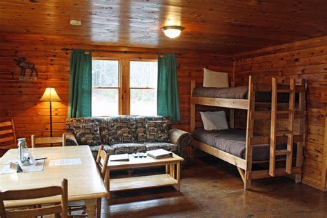 bunk house bunk house a cabin in pittsburg nh at the cabins at lopstick