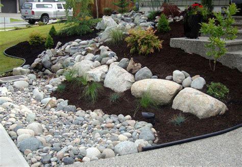 Landscape Rock Surrey Backyard Garden Designs Surrey Back Yard Makeovers Front