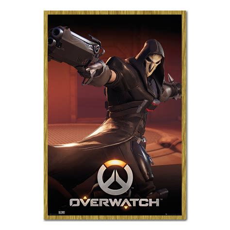 Poster Overwatch 08 overwatch reaper poster iposters