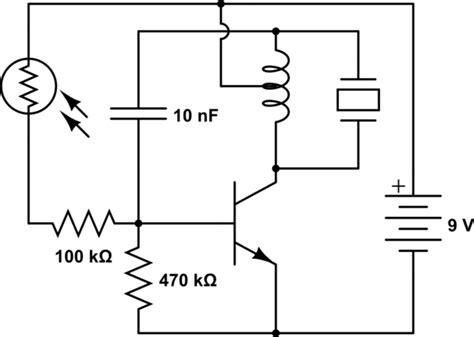 photoresistor grid transistors need help understanding simple oscillator circuit electrical engineering stack