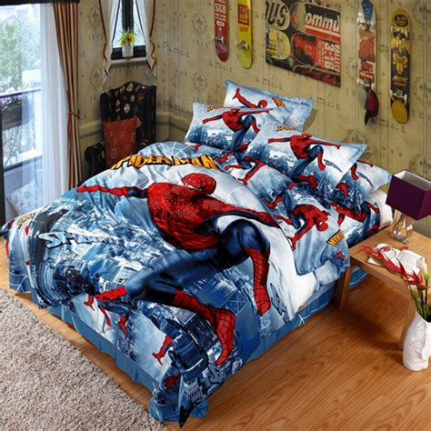 Spiderman Bedding Set Ebeddingsets Bed Comforters Set