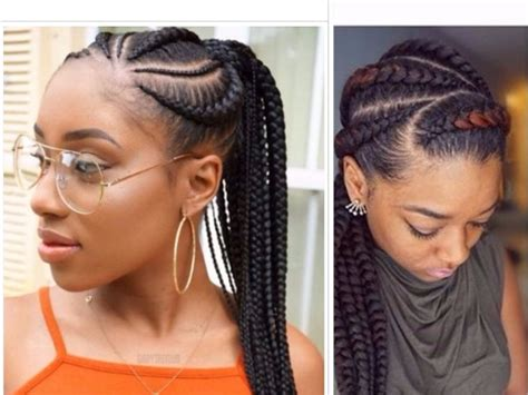 Braided Hairstyles For Hair For Teenagers by Cornrows Hairstyles For Teenagers Www Pixshark