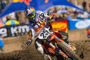 ama motocross nationals musquin off to a positive start to the ama pro motocross
