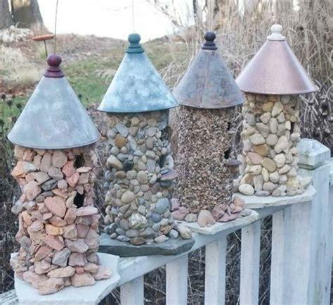 gartendeko aus holz und stein gartendeko selber bauen rheumri