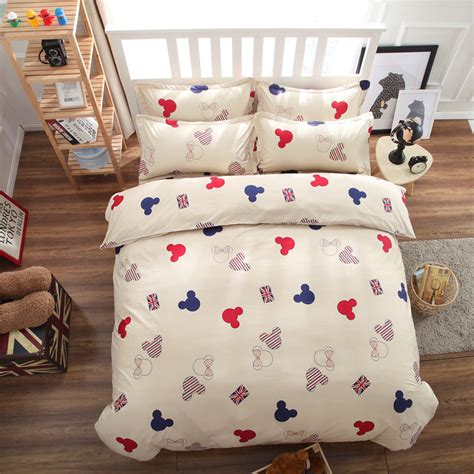 Popular Queen Size Mickey Mouse Bedding Buy Cheap Queen Mickey Bedding