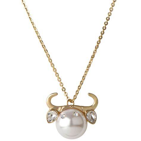 hailey s zodiac horoscope charm necklace taurus the bull