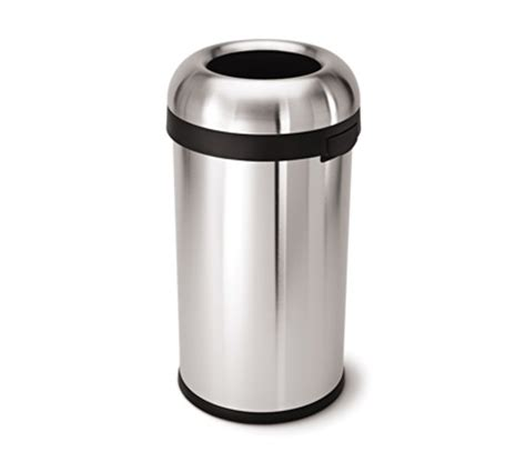 simplehuman trash cans wastebaskets for kitchen and