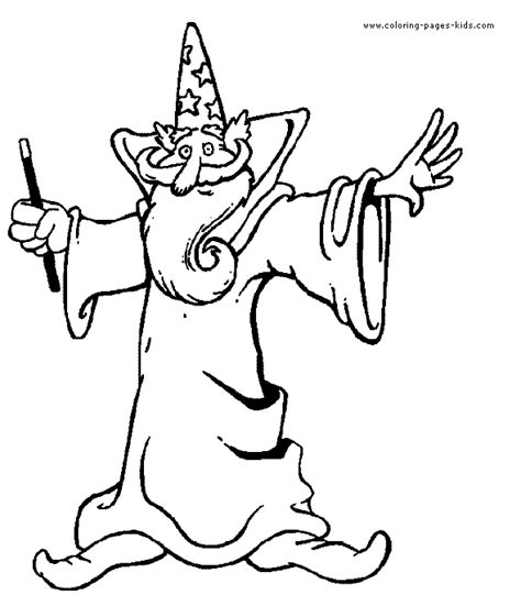 templates and wizards wizward witch and magic color page coloring pages for
