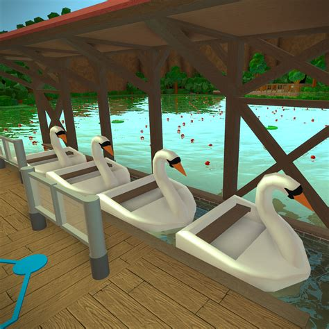 swan boats theme park tycoon 2 wikia fandom powered by - Swan Boats Theme Park Tycoon 2