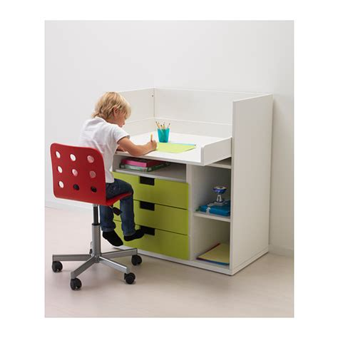 Small Desk With Drawers Ikea Stuva Desk With 3 Drawers White 90x79x102 Cm Ikea