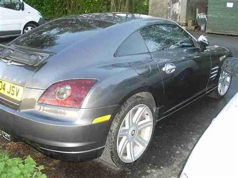 free car manuals to download 2004 chrysler crossfire user handbook chrysler crossfire 3 2 v6 coupe grey 2004 rare manual car for sale