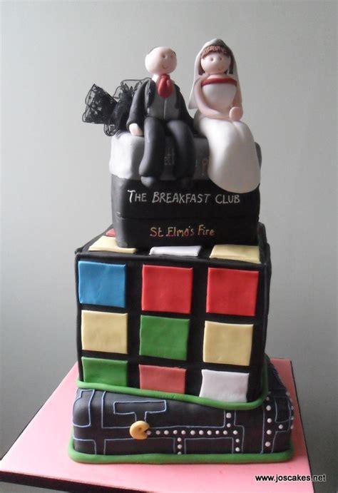 jo s cakes 80s themed wedding cake