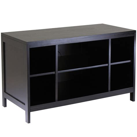 Flat Screen Tv Racks by Hailey Flat Panel Tv Stand Espresso In Tv Stands