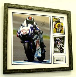 Lorenzo X Fuera Limited jorge lorenzo signed moto gp montage from sportsframe