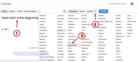 tutorial bahasa inggris online cara translate bahasa inggris ke indonesia secara online
