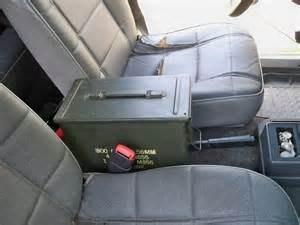 ammo can center console ideas for road