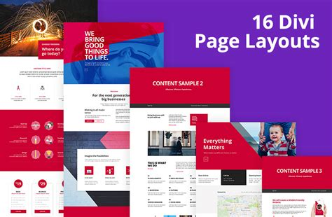 Unicorn Bundle 2 0 Divi Ui Kits Page Layouts Assistant Plugin Divi Layout Templates
