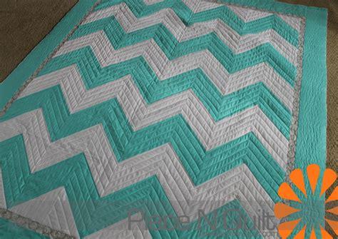 Free Chevron Quilt Pattern by N Quilt Chevron Wedding Quilt