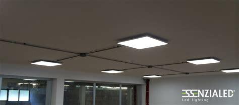 plafoniere per interni argo 60x60 e 30x120 plafoniera led per ufficiessenzialed