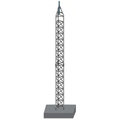 rohn 25g tower sections rohn products llc 25g 25g 30ft freestanding tower kit
