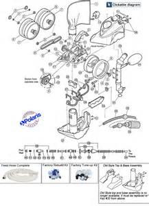 polaris 360 pool cleaner parts diagram polaris wiring diagram and circuit schematic