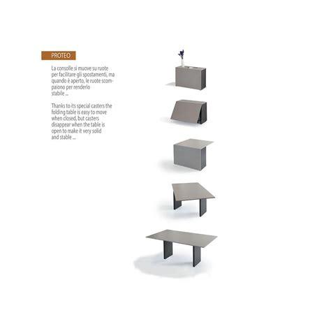 consolle tavoli allungabili tavolo consolle proteo allungabile