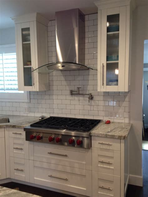 White Shaker Cabinets With Glass Doors And Deep Drawers Shaker Cabinet Doors With Glass